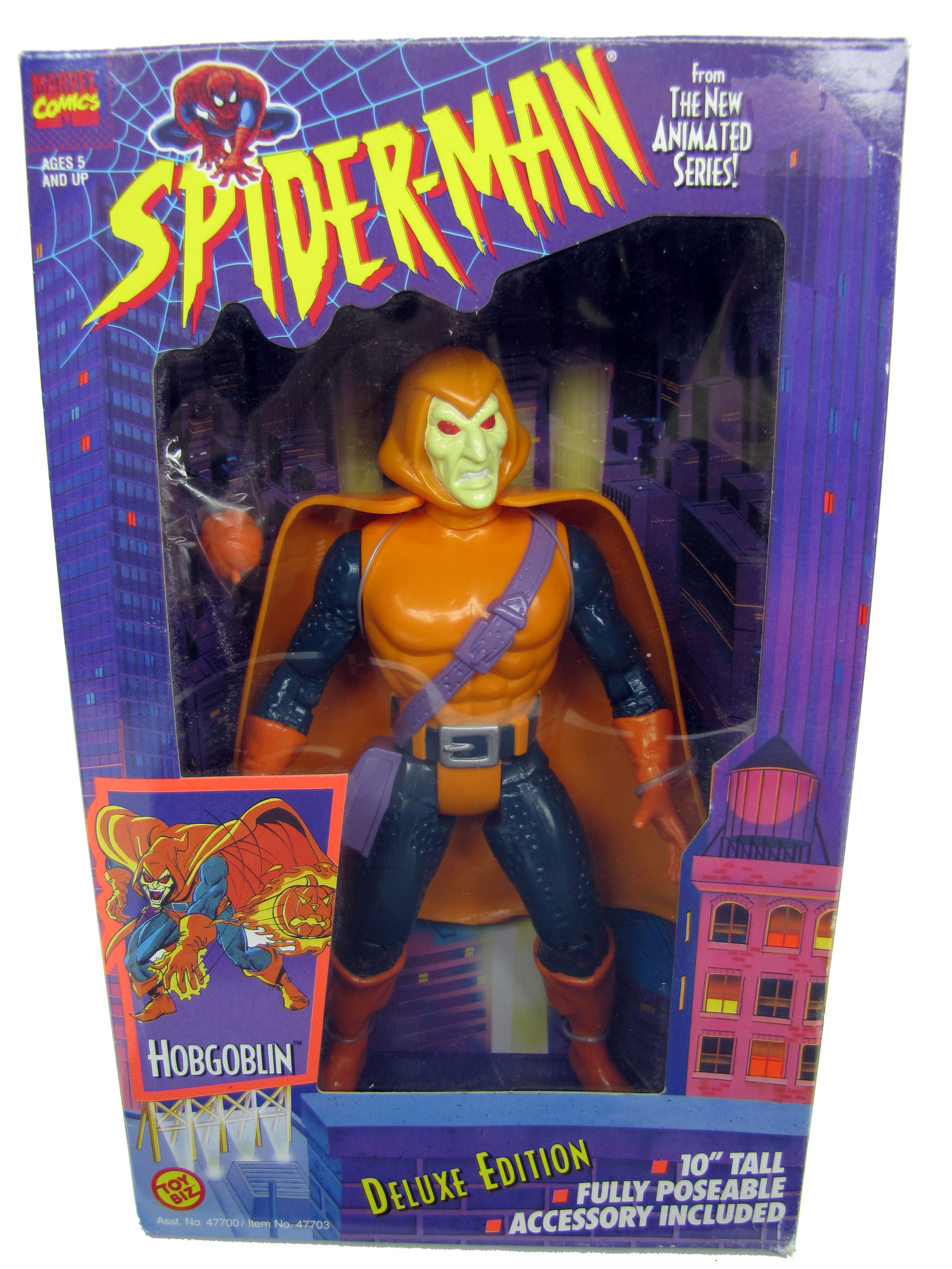 "Spider-Man Animated Series 10"" Deluxe Hobgoblin Sealed"