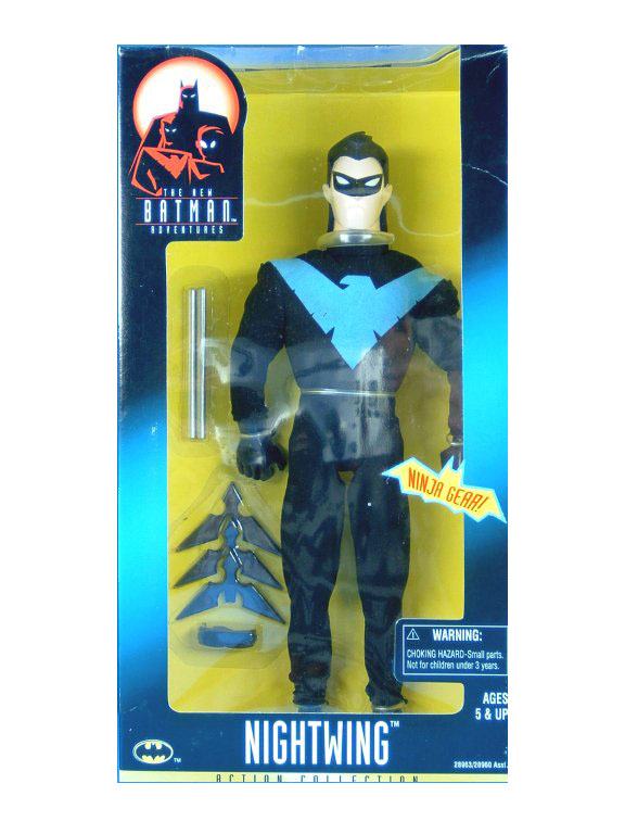 "Batman The Animated Series 12"" Nightwing Sealed NEW"