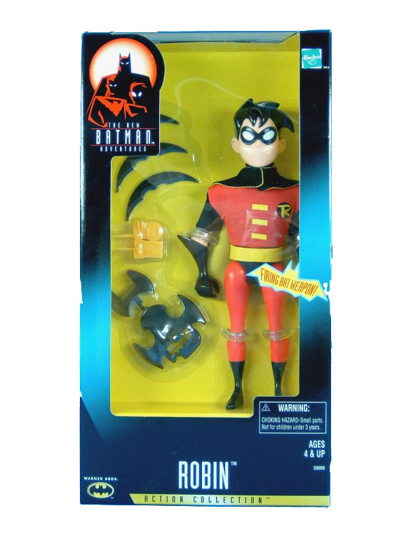 "Batman The Animated Series 12"" Robin Sealed NEW"