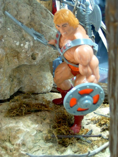 1982 MOTU Masters of the Universe HE-MAN UNIVERSE MOST POWERFUL MAN Complete