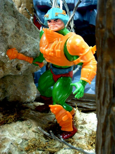 1982 MOTU Masters of the Universe MAN-AT-ARMS MASTER OF WEAPONS Complete