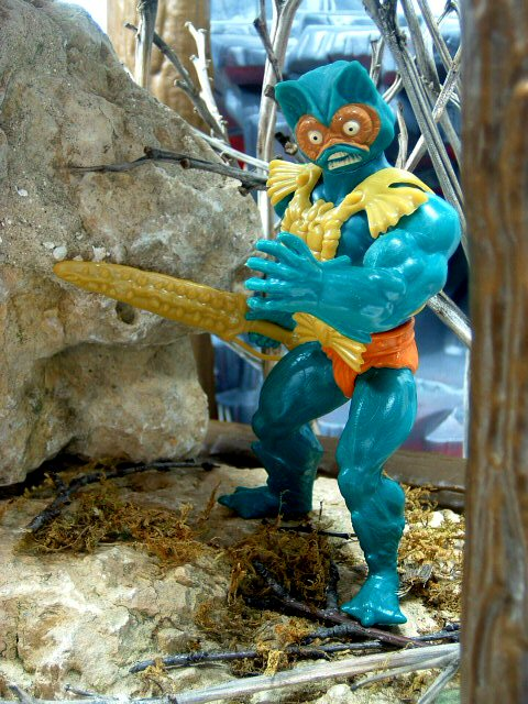 1982 Masters of the Universe Mer-Man Complete