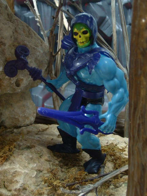 1982 MOTU Masters of the Universe SKELETOR LORD OF DESTRUCTION Complete