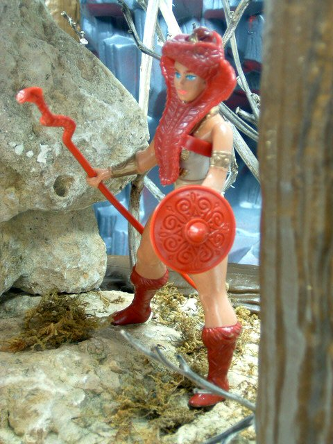 1982 MOTU Masters of the Universe TEELA WARRIOR GODDESS Complete