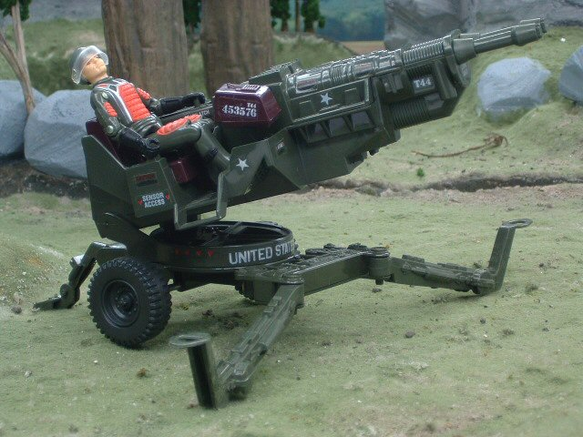 1982 GIJoe H.A.L. Heavy Artillery Laser with Grand Slam Complete
