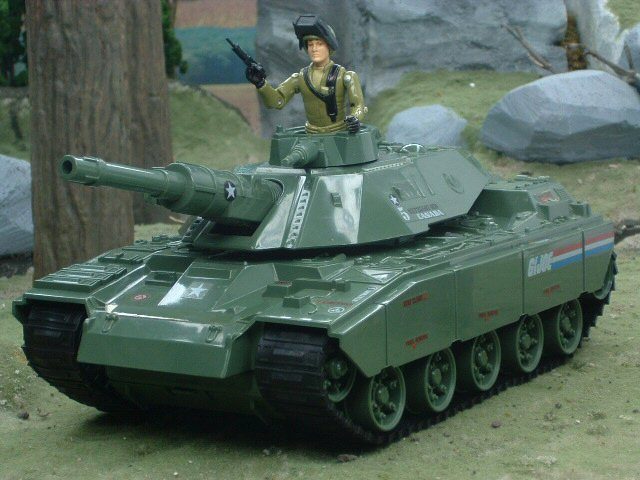 1982 GIJoe M.O.B.A.T Motorized Battle Tank with Steeler Complete
