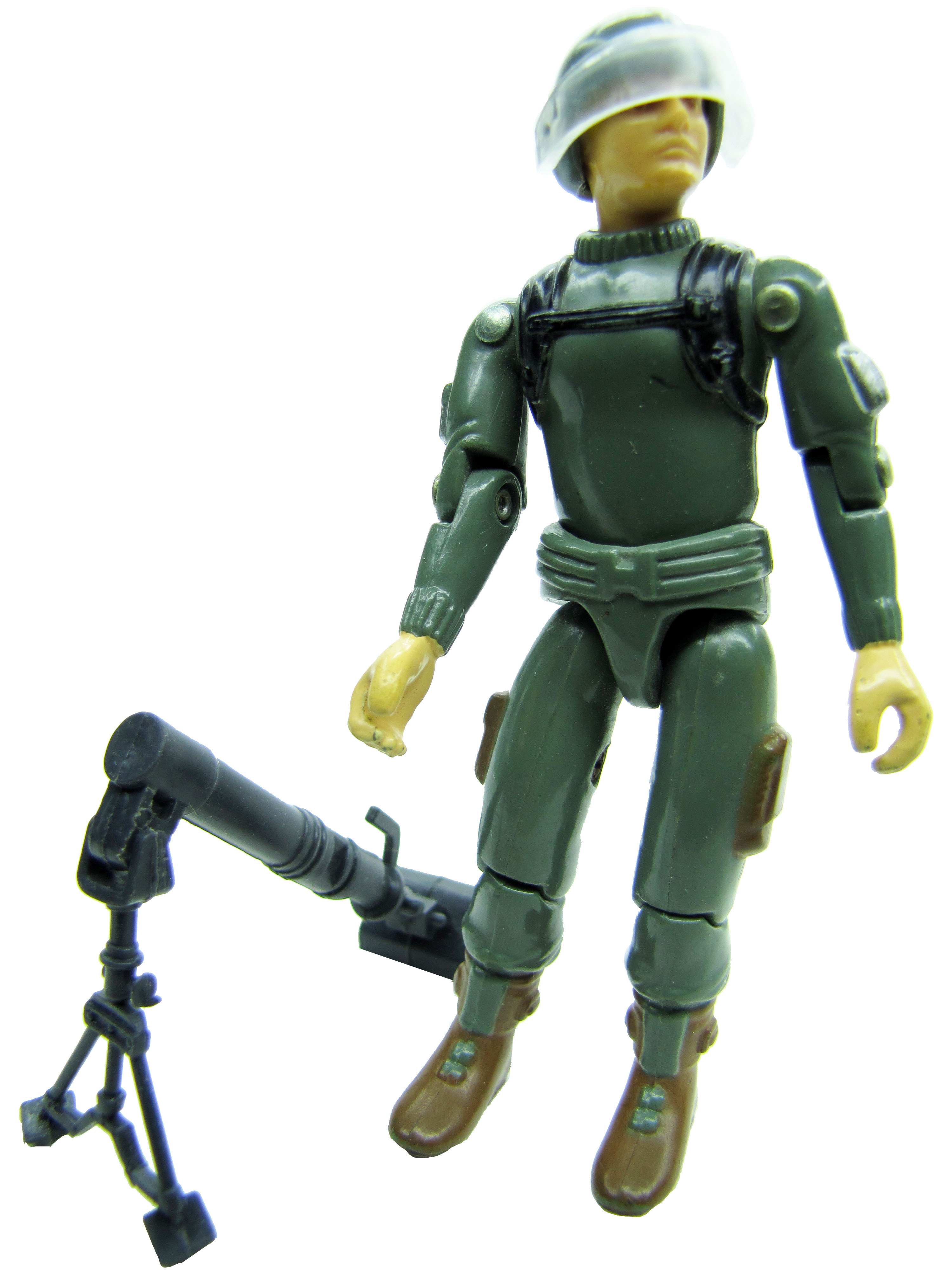 1982 GIJoe A Real American Hero SHORT-FUZE MORTAR SOLDIER Complete