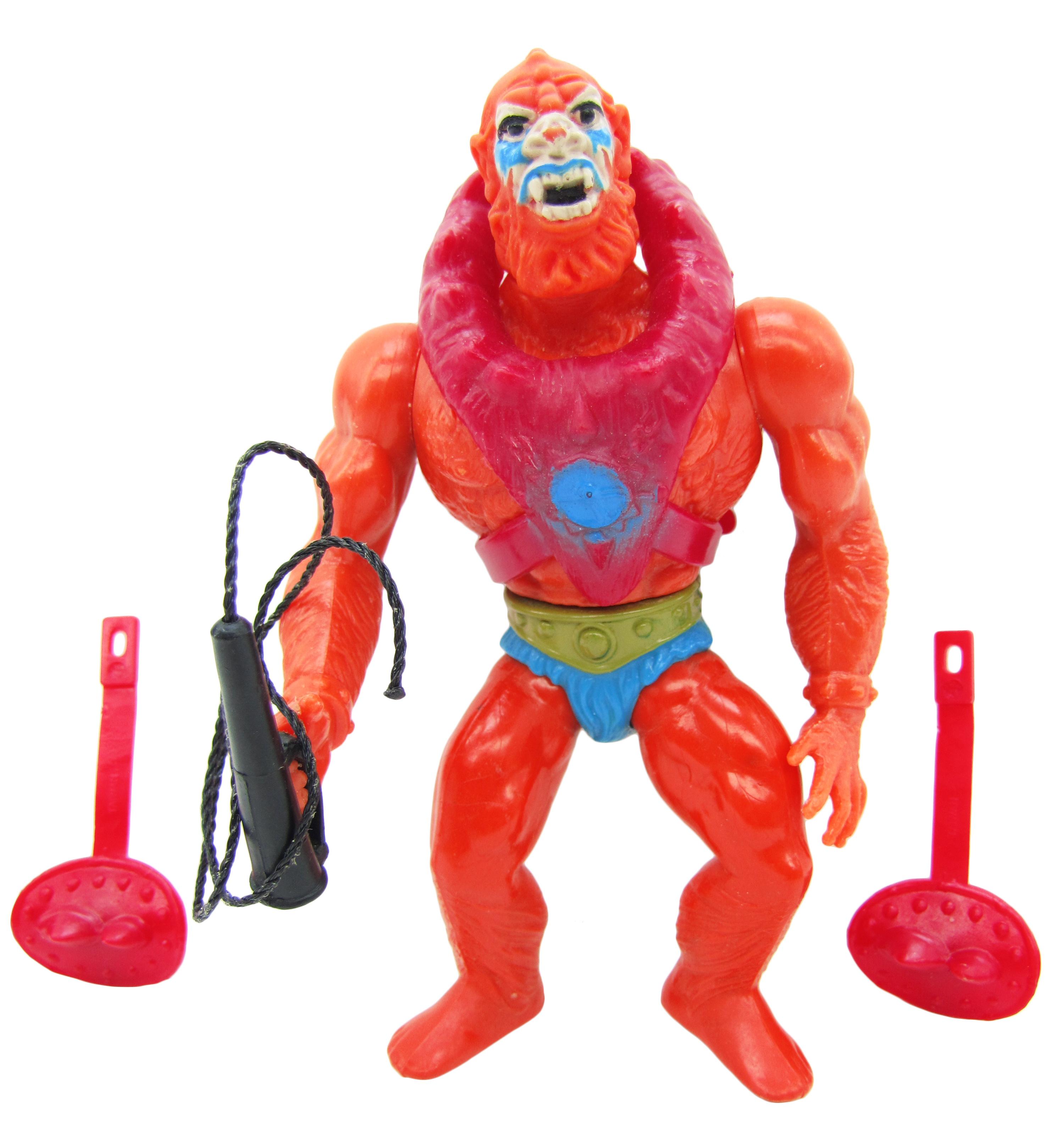 1982 MOTU Masters of the Universe BEAST MAN SAVAGE HENCHMAN Complete Near Mint