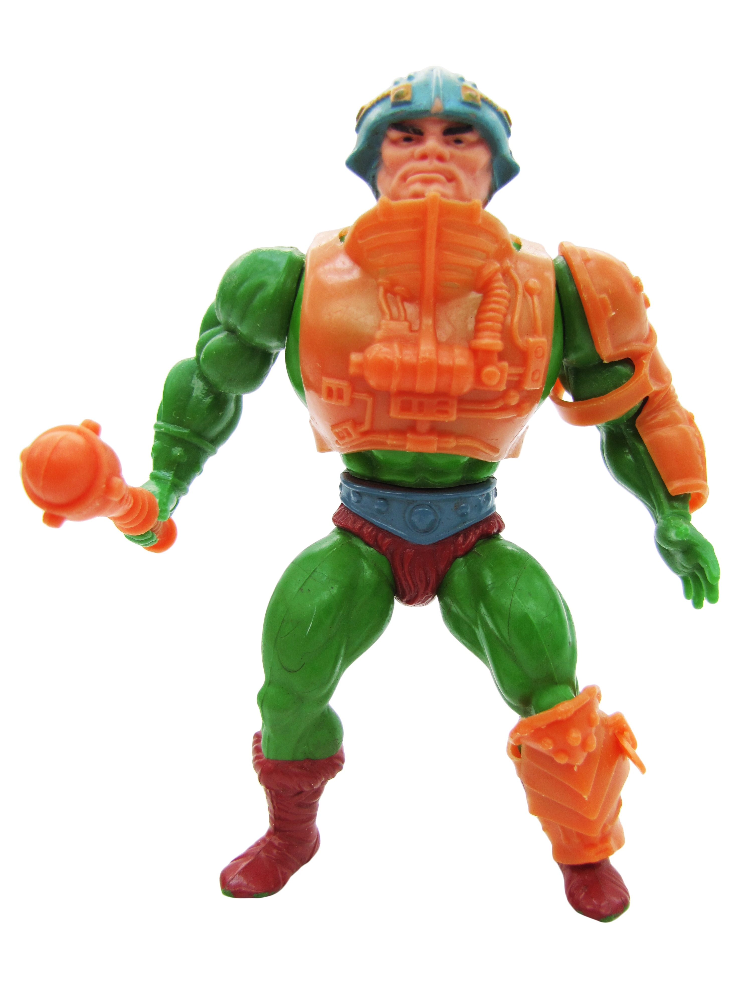 1982 MOTU Masters of the Universe MAN-AT-ARMS MASTER OF WEAPONS Complete NR Mint