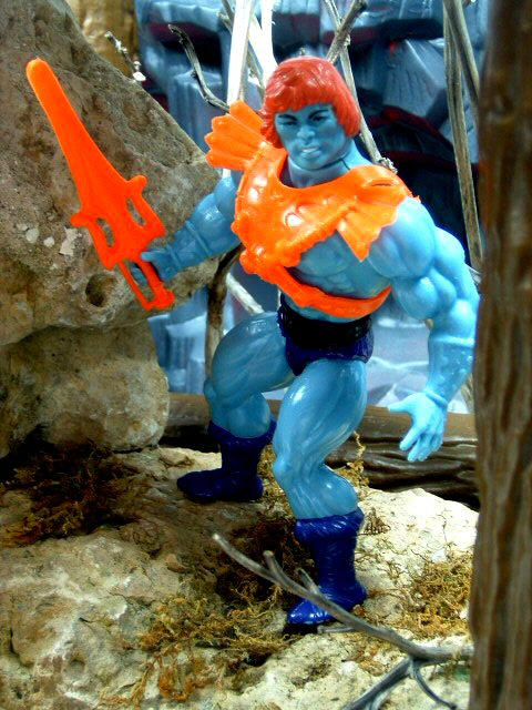 1983 MOTU Masters of the Universe FAKER EVIL ROBOT OF SKELETOR Complete