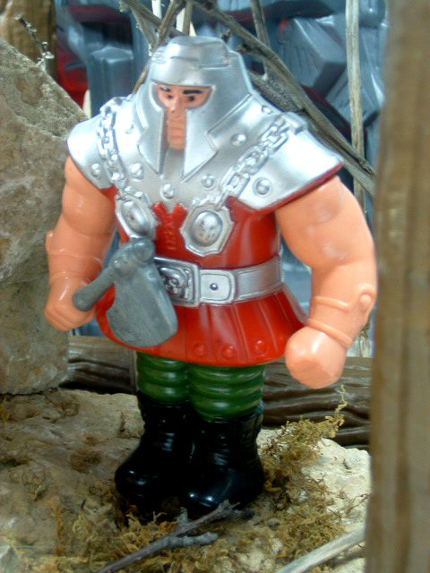 1983 Masters of the Universe Ram Man Complete