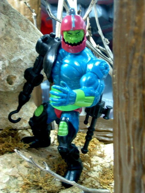 1983 MOTU Masters of the Universe TRAP JAW EVIL & ARMED FOR COMBAT Complete