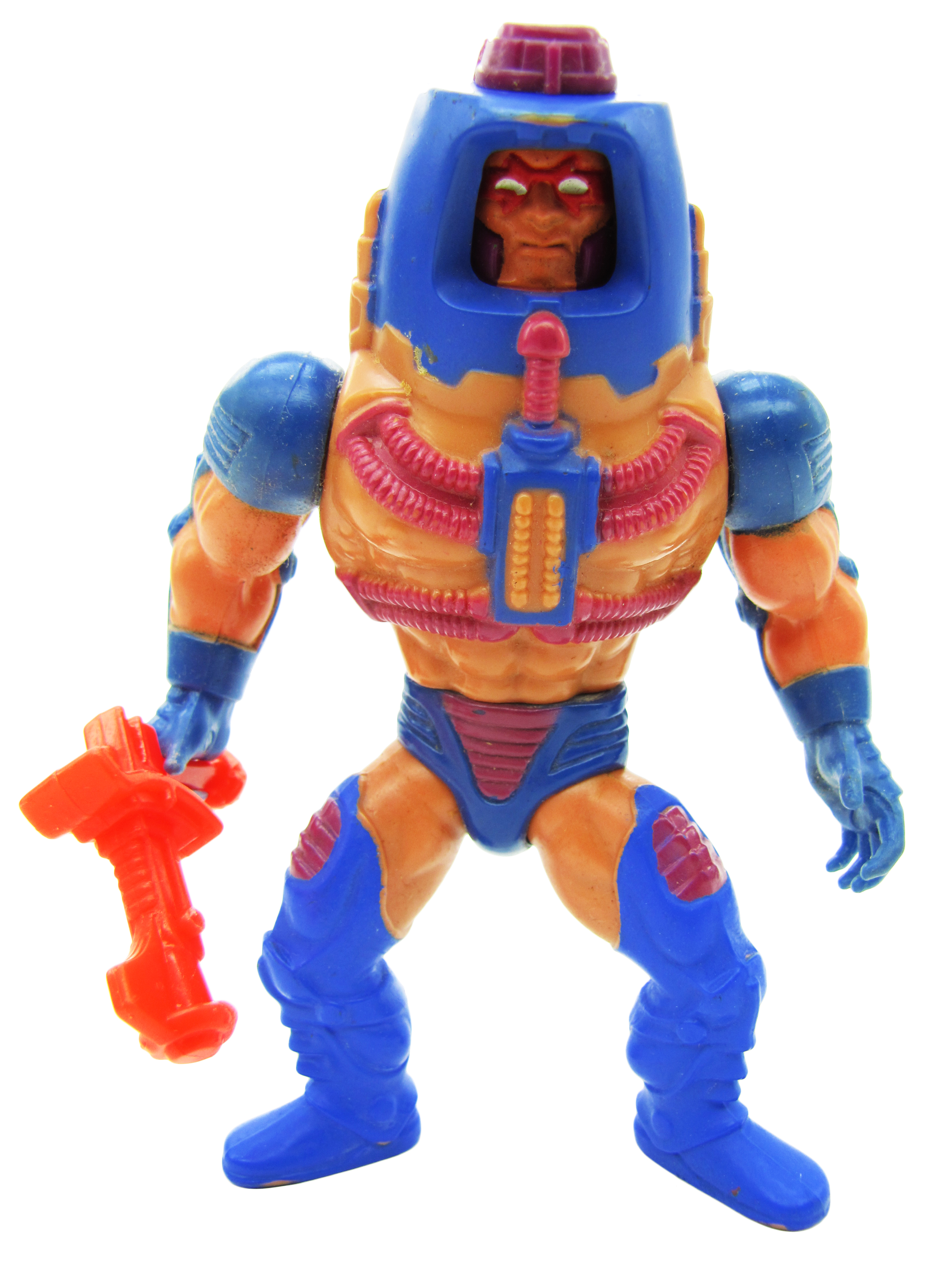 1983 MOTU Masters of the Universe MAN-E-FACES HUMAN-ROBOT-MONSTER Complete NM