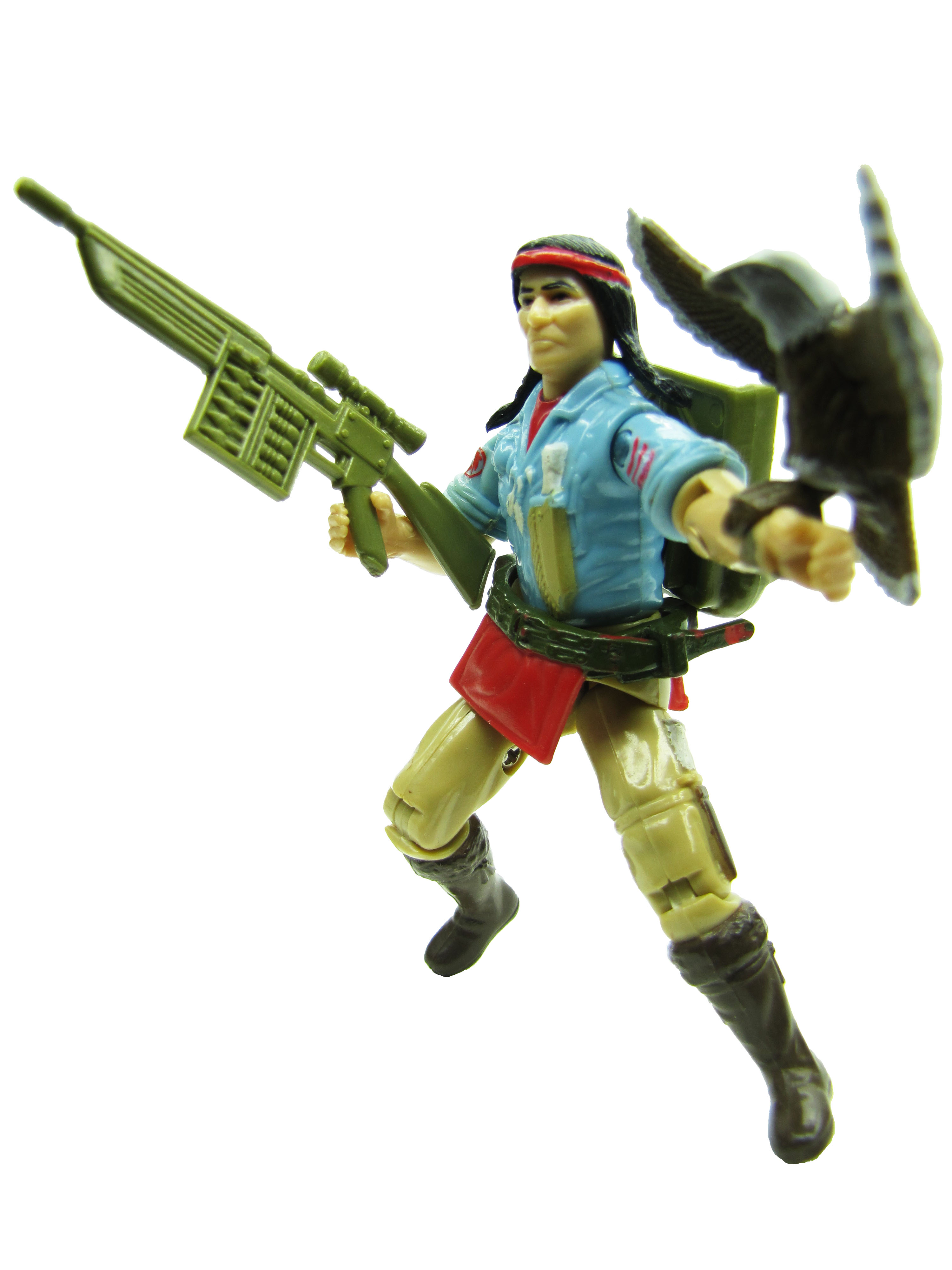 1984 GIJoe A Real American Hero SPIRIT TRACKER Complete