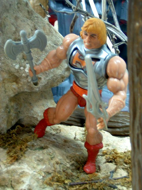 1984 MOTU Masters of the Universe BATTLE ARMOR HE-MAN Complete