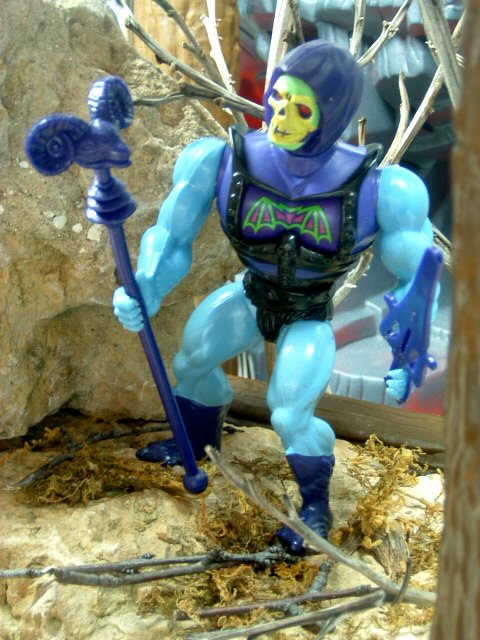 1984 MOTU Masters of the Universe BATTLE ARMOR SKELETOR EVIL LORD Complete