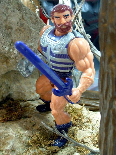 1984 MOTU Masters of the Universe FISTO HEROIC HAND-TO-HAND FIGHTER Complete