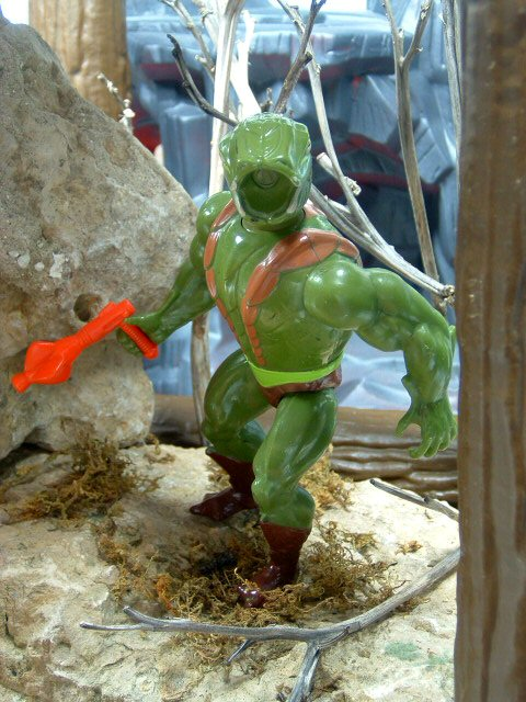 1984 Masters of the Universe Kobra Khan Complete