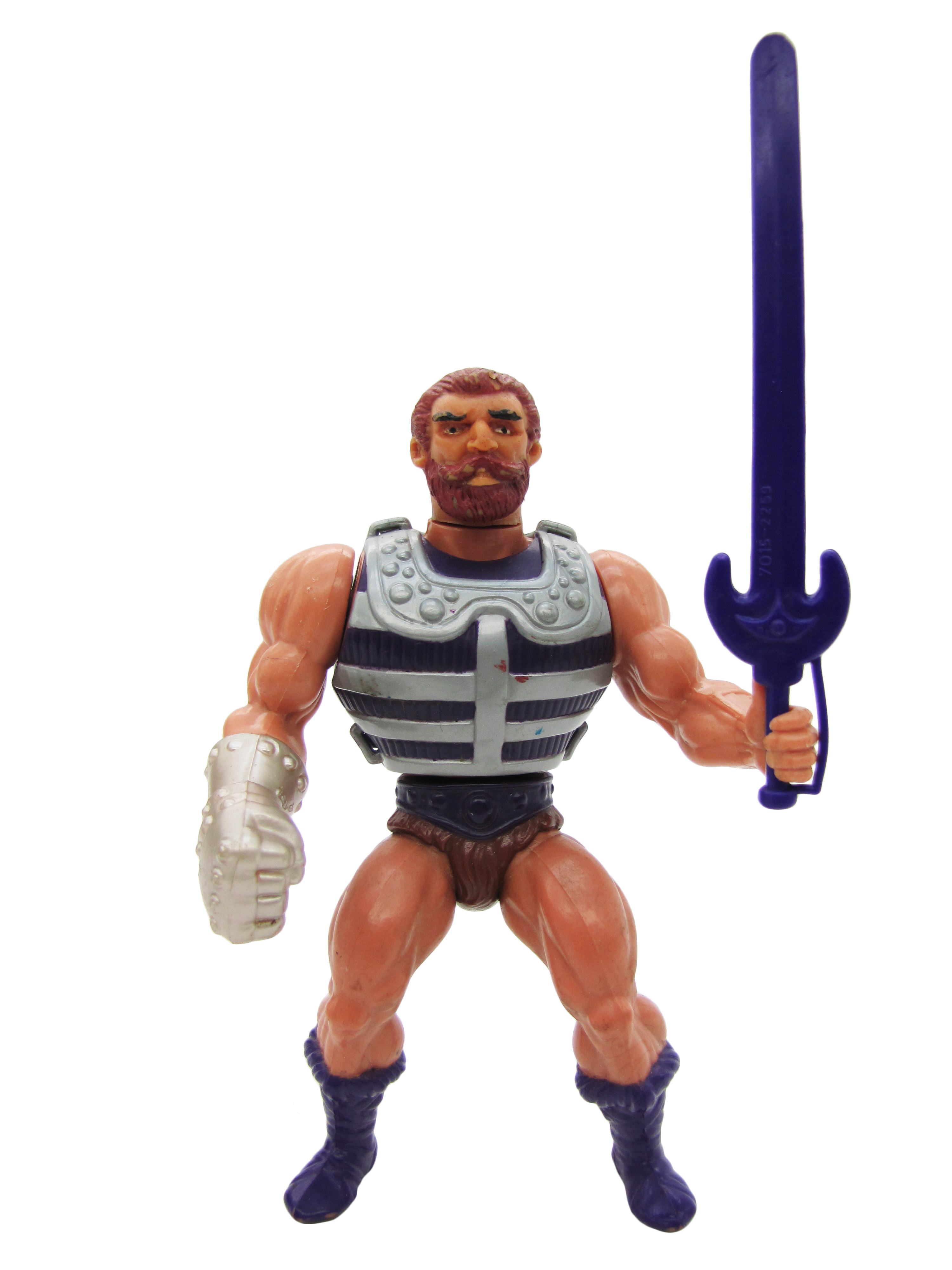 1984 MOTU Masters of the Universe FISTO HEROIC FIGHTER Complete Great Condition