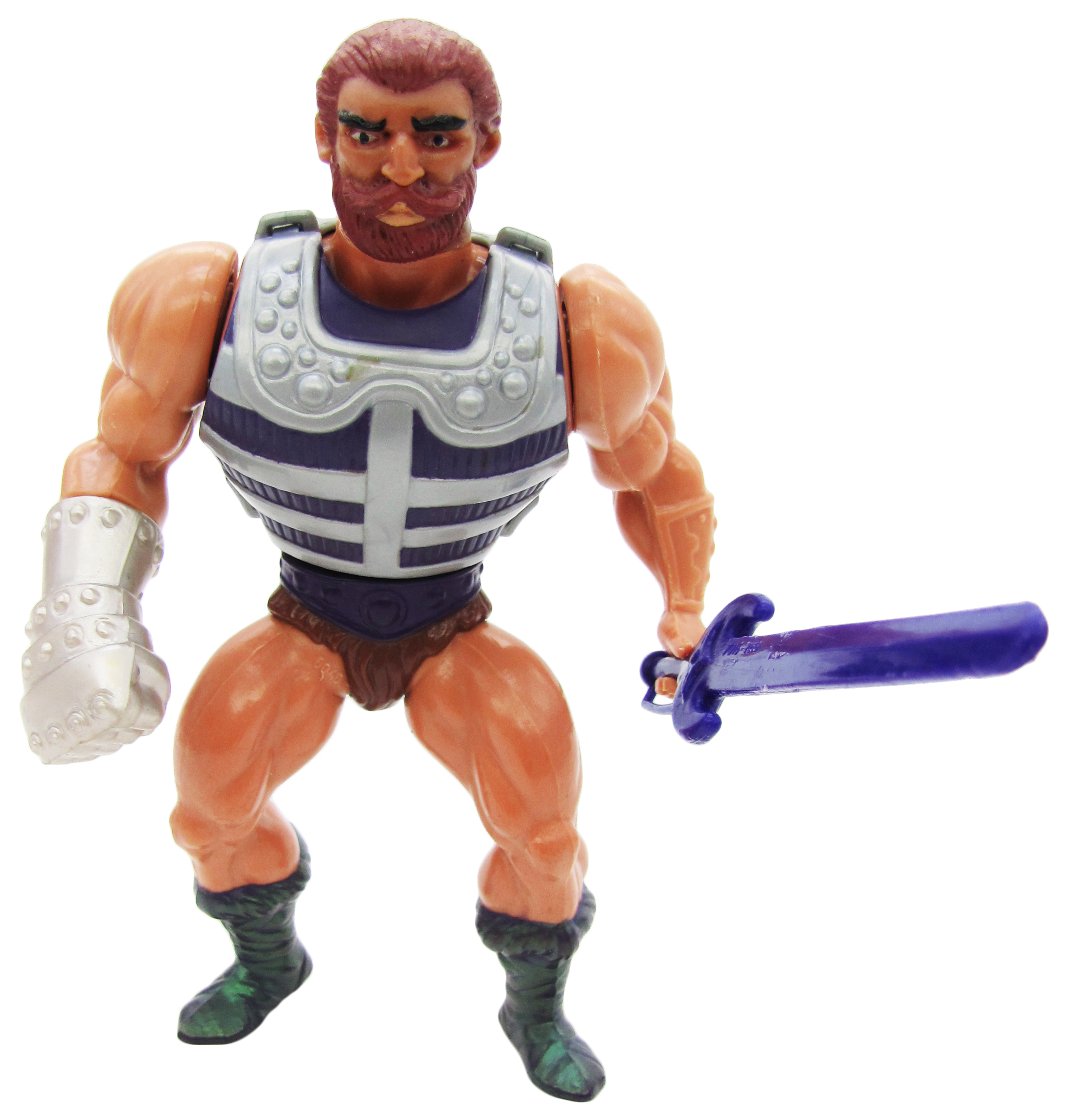 1984 MOTU Masters of the Universe FISTO HEROIC HAND FIGHTER Complete Variant MNT