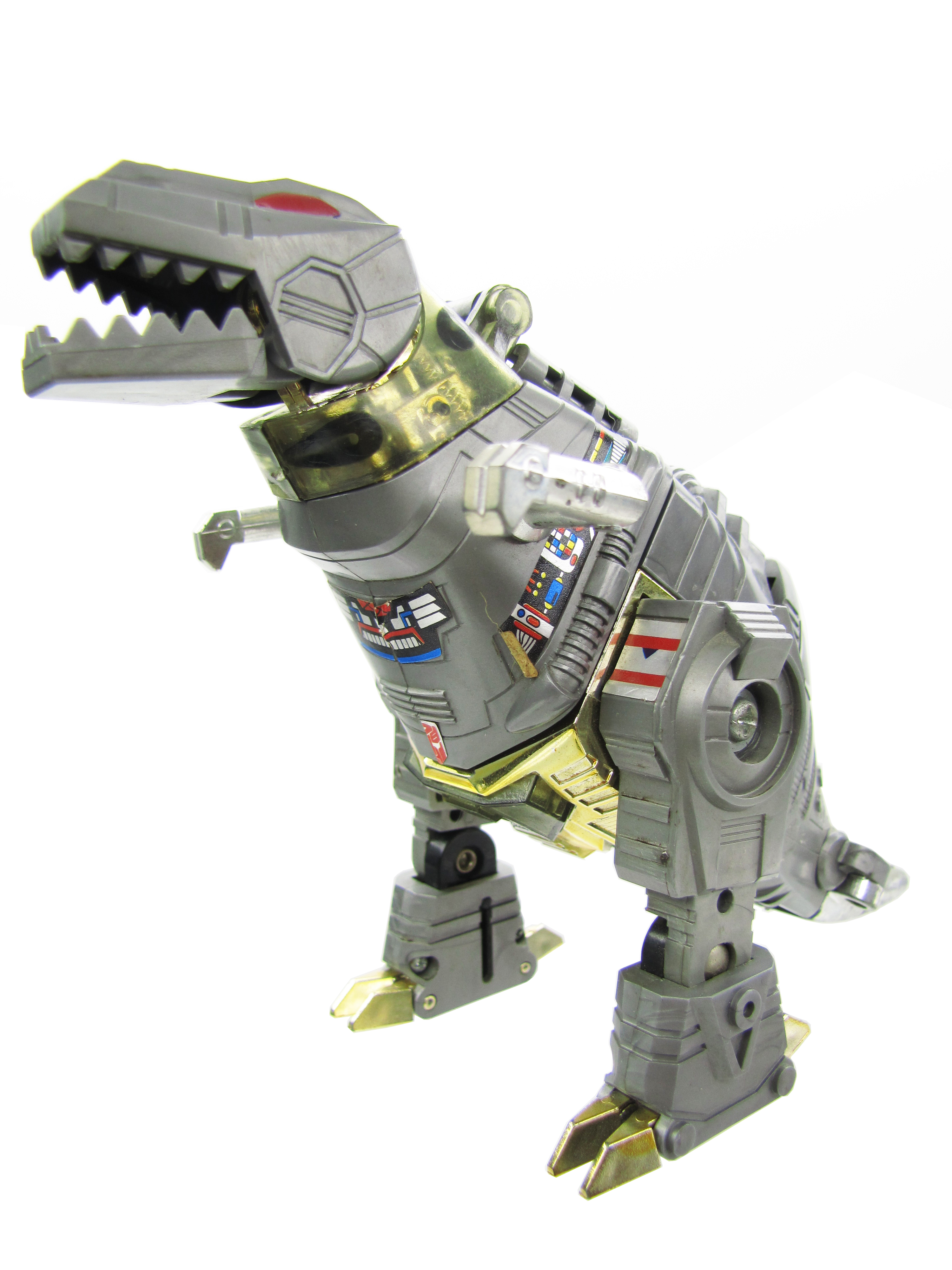 1984 Transformers Generation 1 Dinobots Leader GRIMLOCK Great Condition
