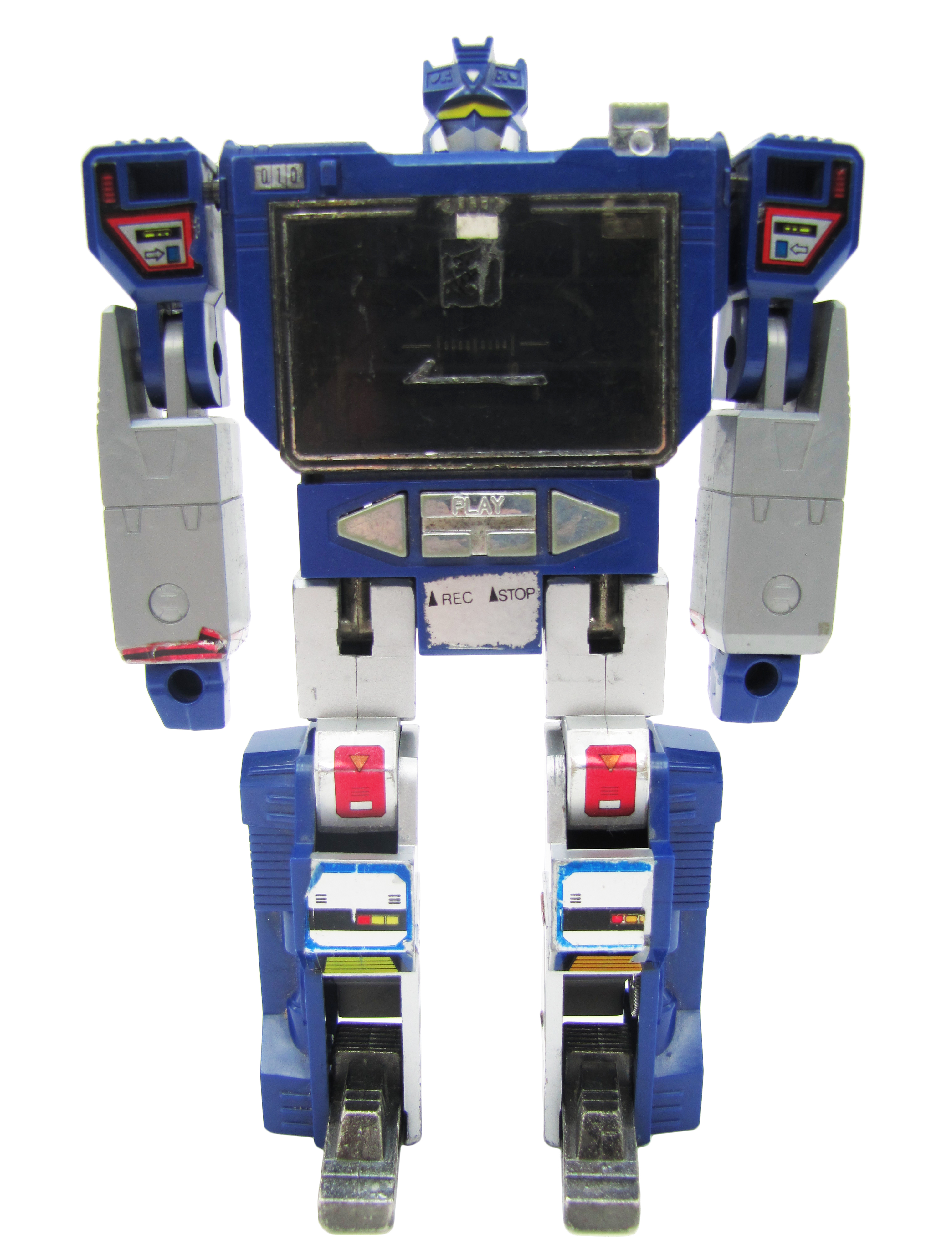 1984 Transformers Generation 1 Communicators Decepticon SOUNDWAVE Fair Condition
