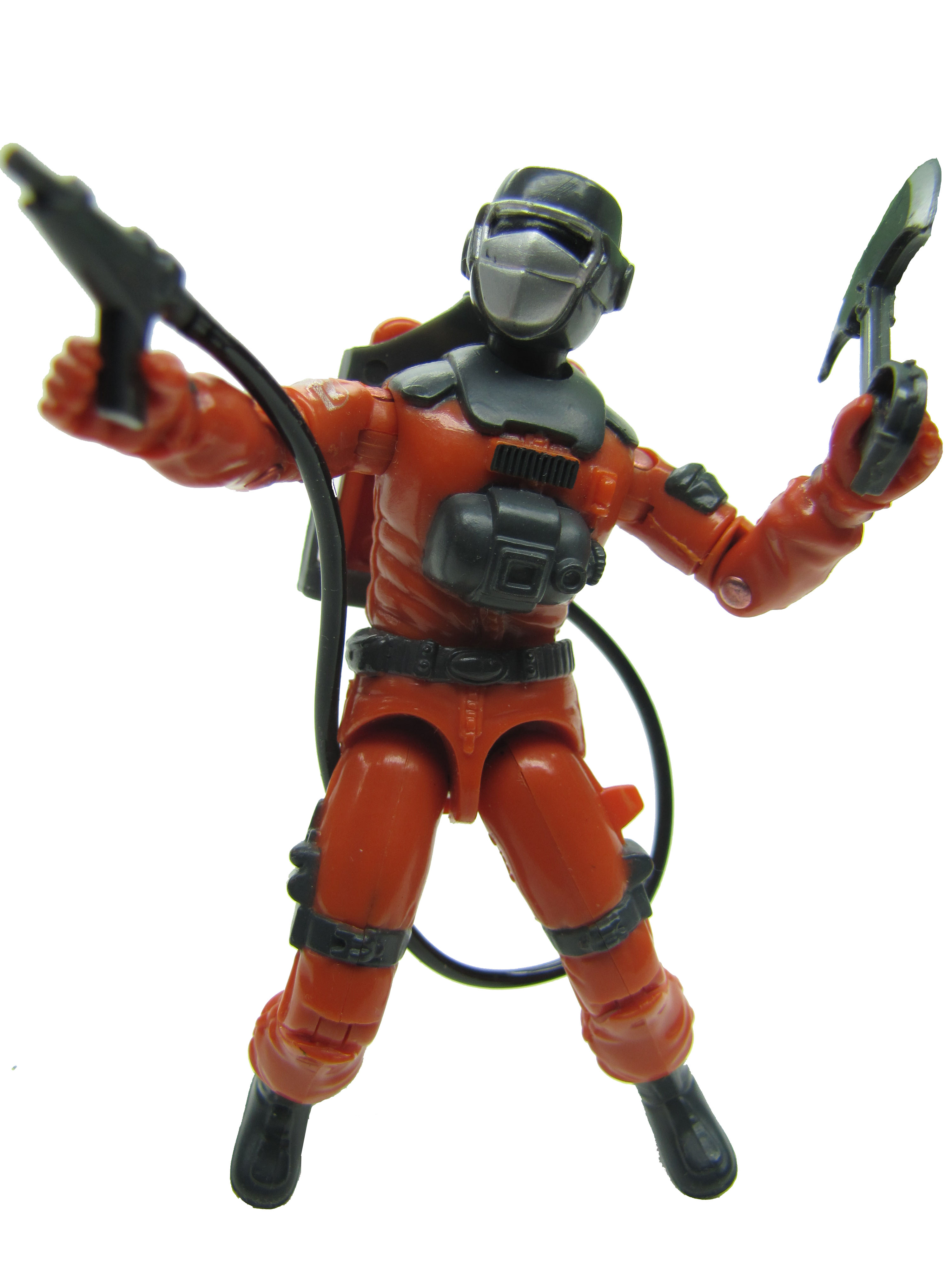 1985 GIJoe BARBECUE FIRE FIGHTER Complete