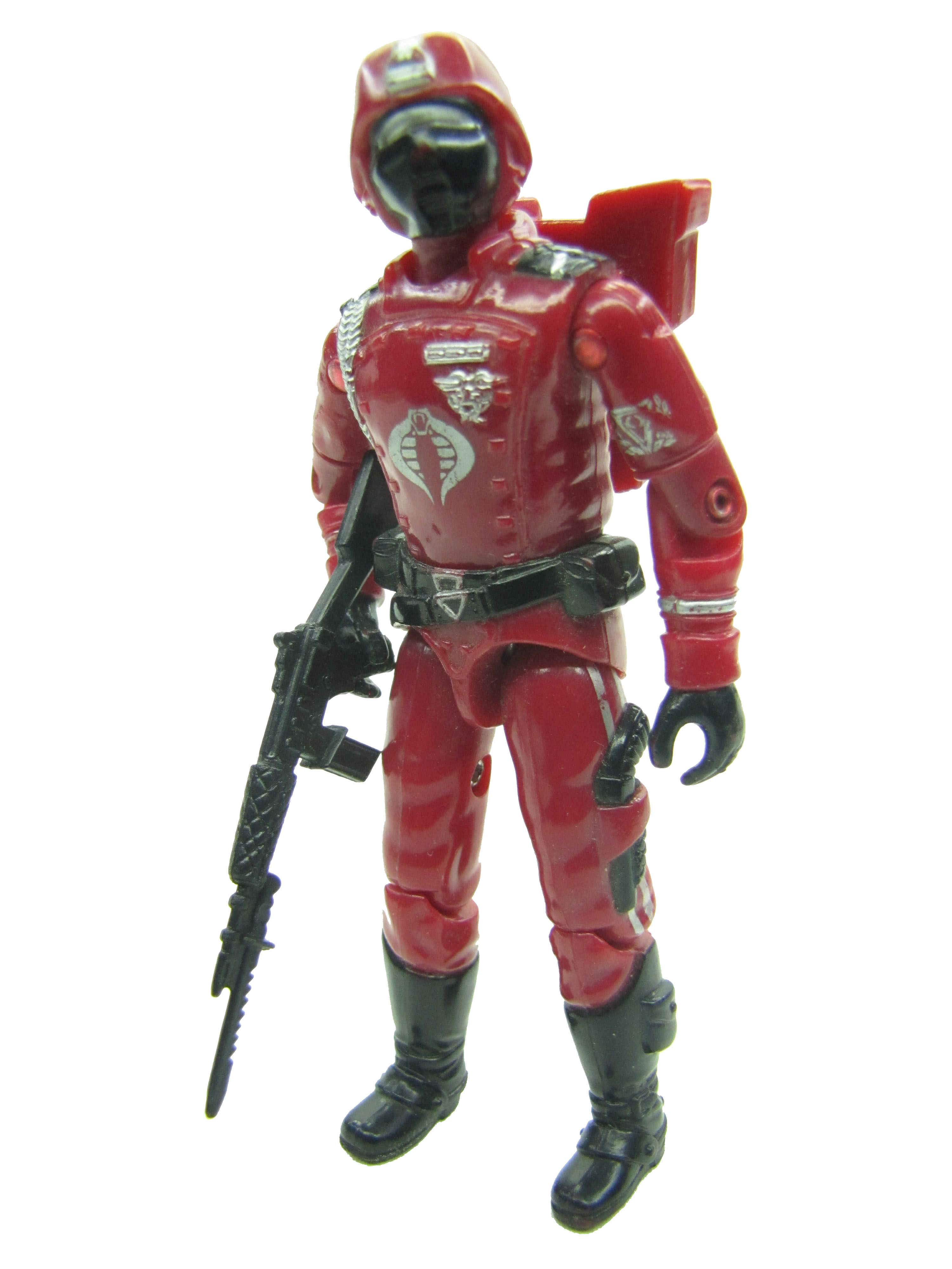 1985 GIJoe COBRA CRIMSON GUARD COBRA ELITE TROOPER Complete