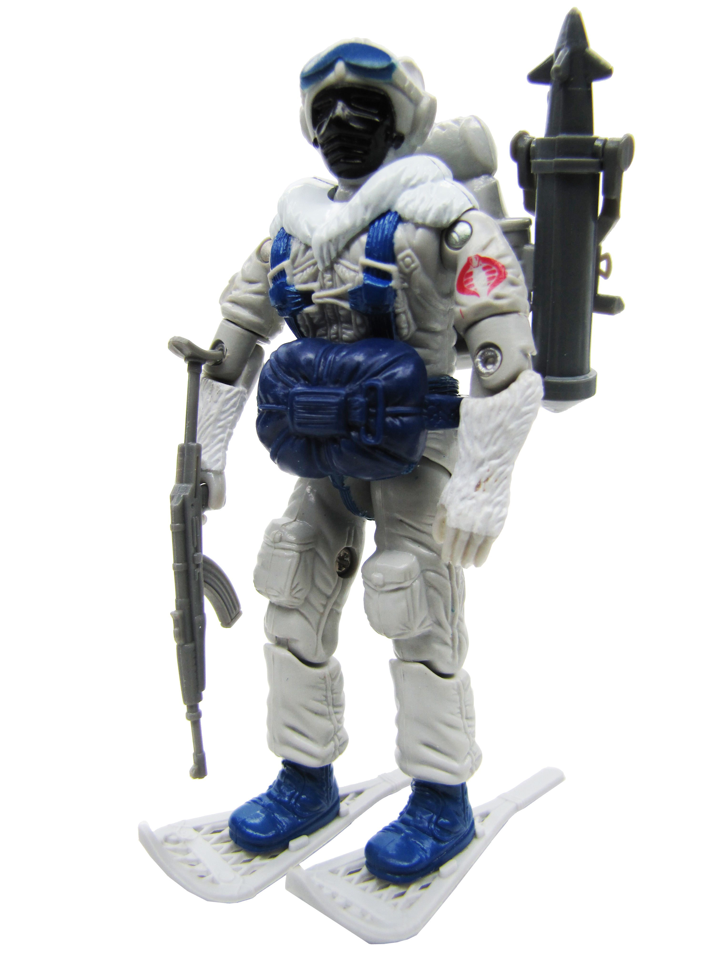 1985 GIJoe COBRA SNOW SERPENT COBRA POLAR ASSAULT Complete