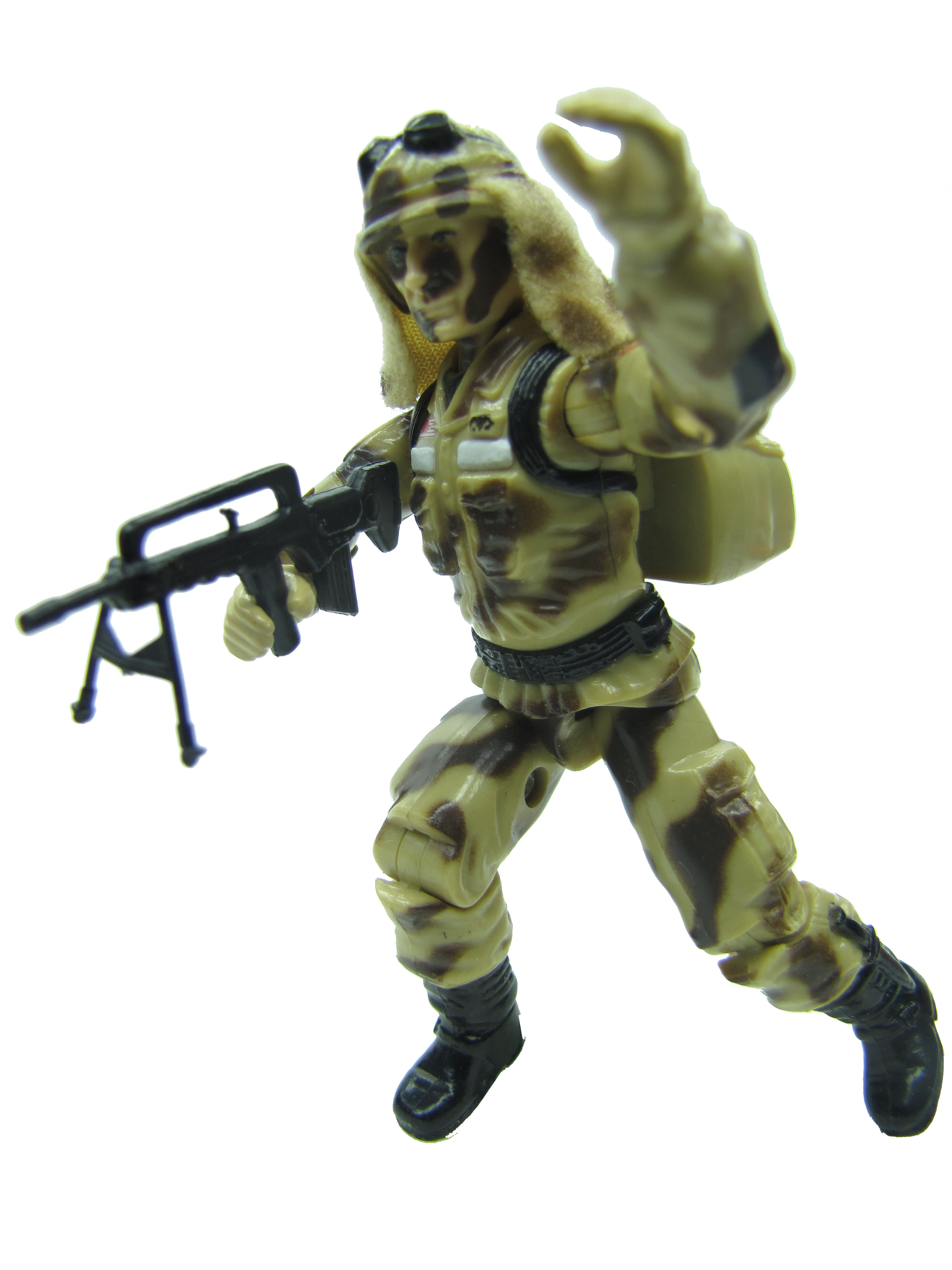 1985 GIJoe DUSTY DESERT TROOPER Complete