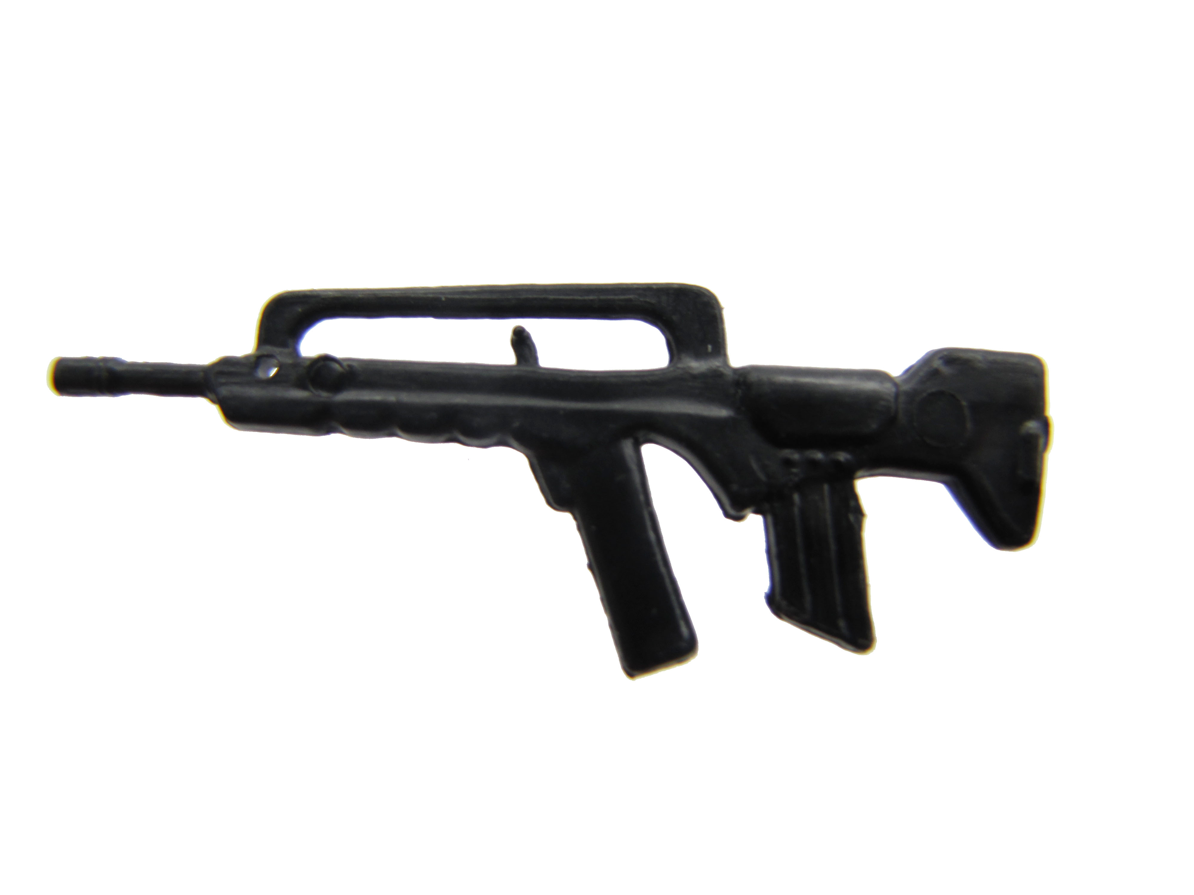 1985 GIJoe Dusty DESERT TROOPER Black FAMAS Submachine Gun