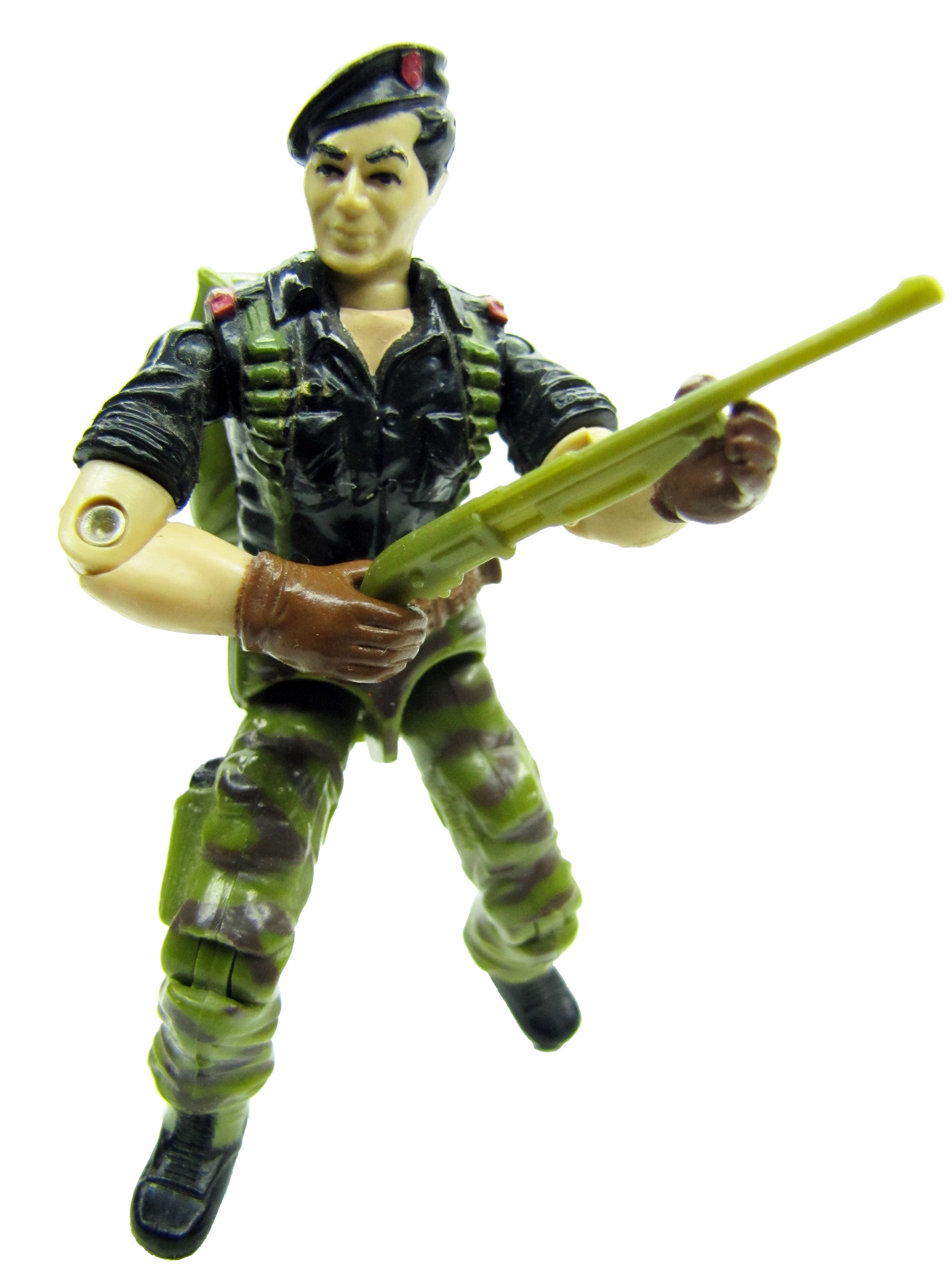 1985 GIJoe FLINT WARRANT OFFICER Complete