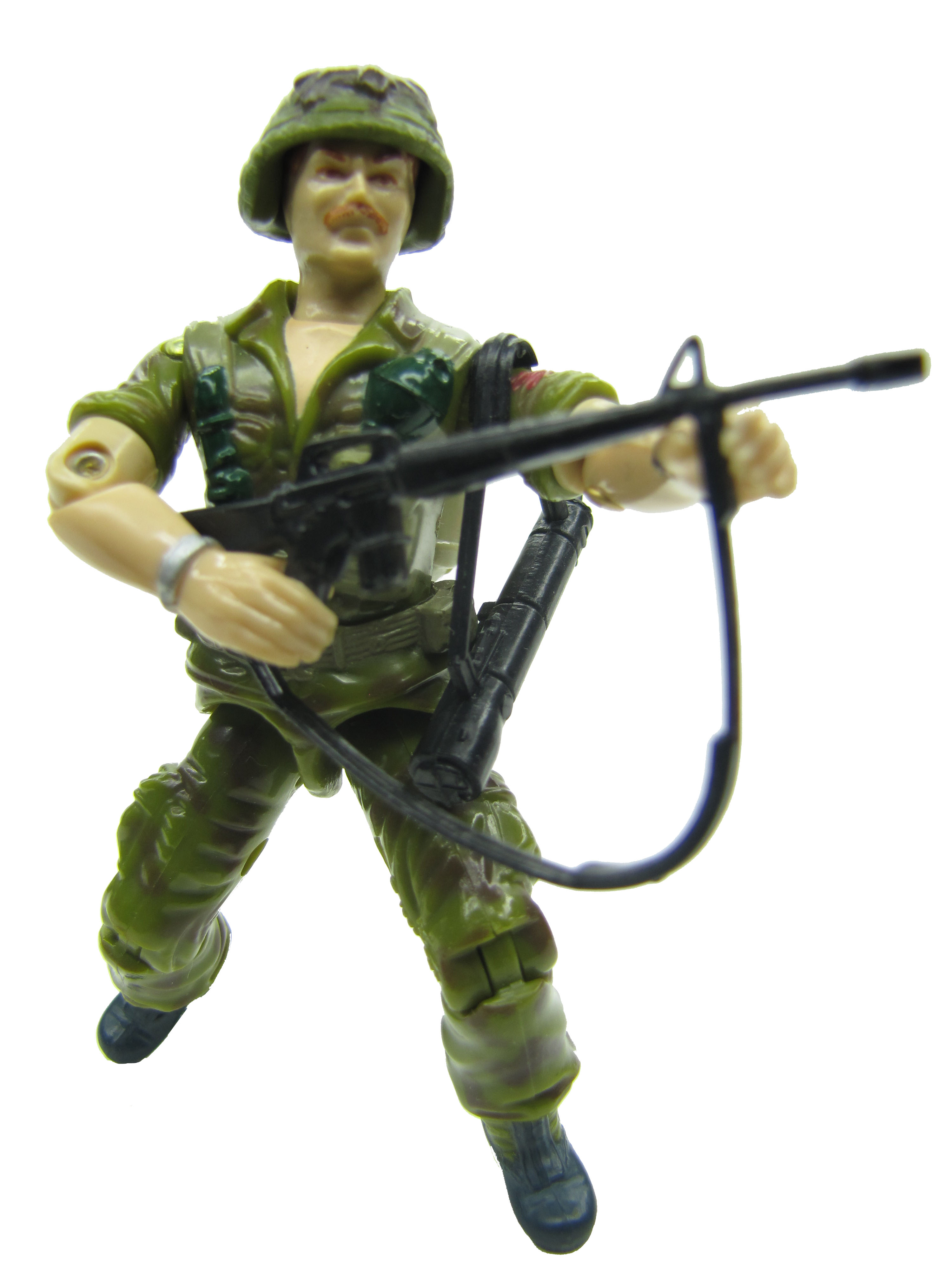 1985 GIJoe FOOTLOOSE INFANTRY TROOPER Complete