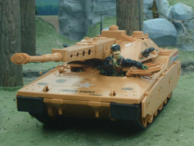 1985 GIJoe Mauler M.B.T. Tank with Heavy Metal Complete