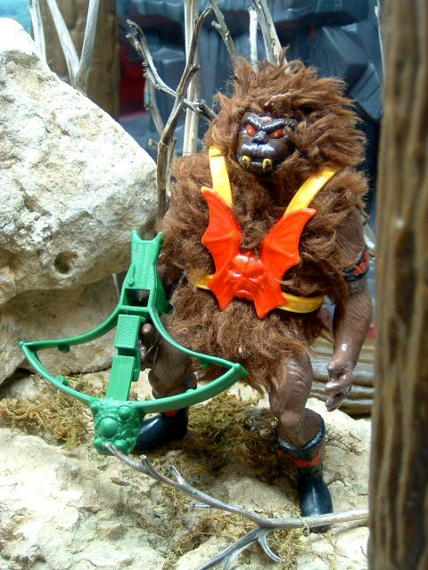 1985 Masters of the Universe Grizzlor Black Variant Complete