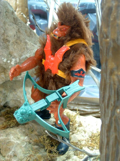 1985 MOTU Masters of the Universe GRIZZLOR HAIRY EVIL HORDE HENCHMAN Complete
