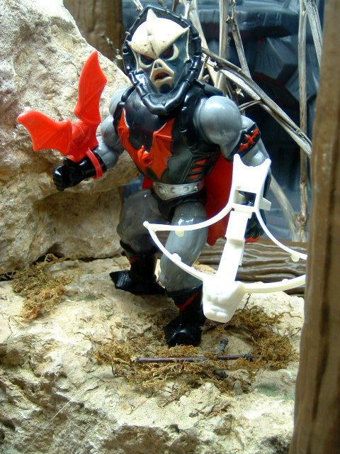 1985 MOTU Masters of the Universe HORDAK LEADER OF THE EVIL HORDE Complete