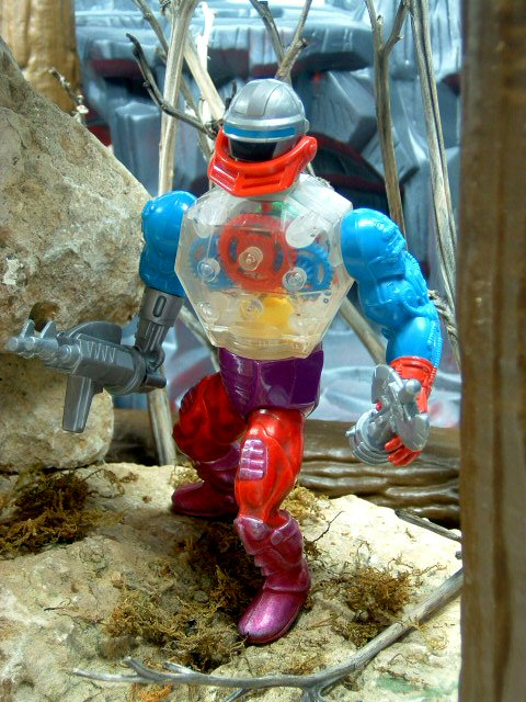 1985 MOTU Masters of the Universe ROBOTO HEROIC MECHANICAL WARRIOR Complete