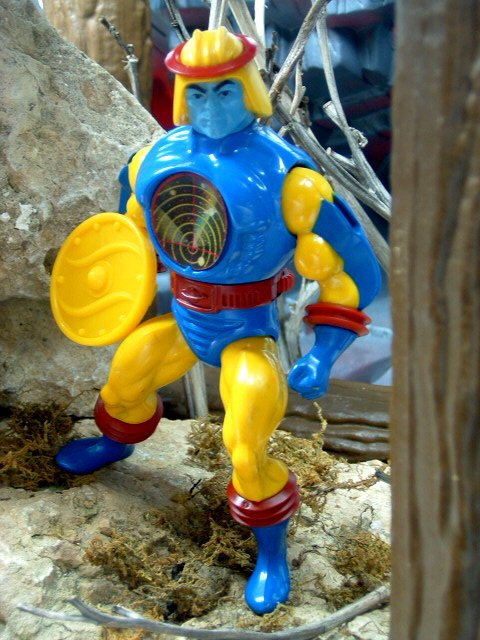 1985 Masters of the Universe Sy-Klone Complete