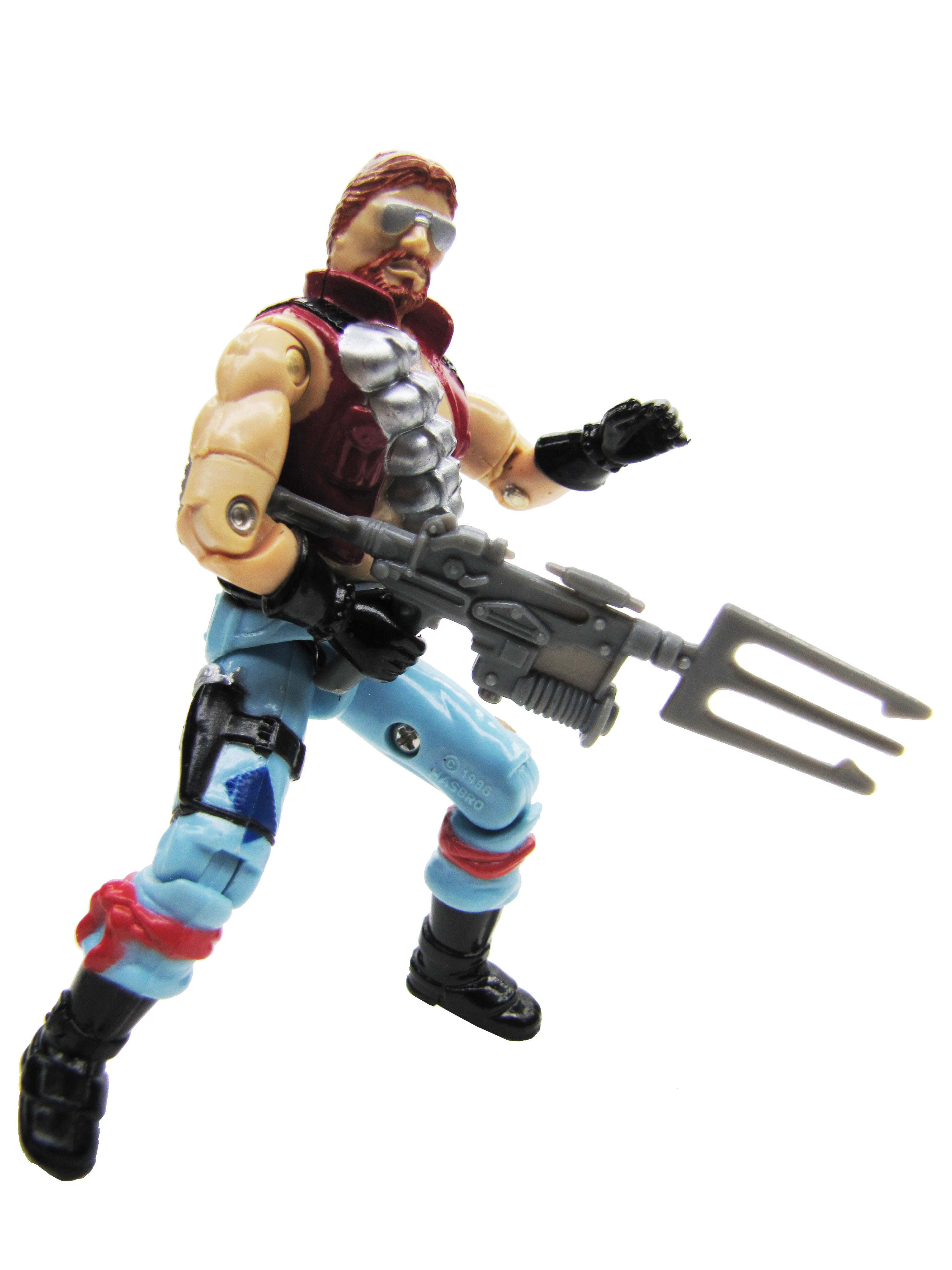 1986 GIJoe Cobra Monkeywrench DREADNOK Complete