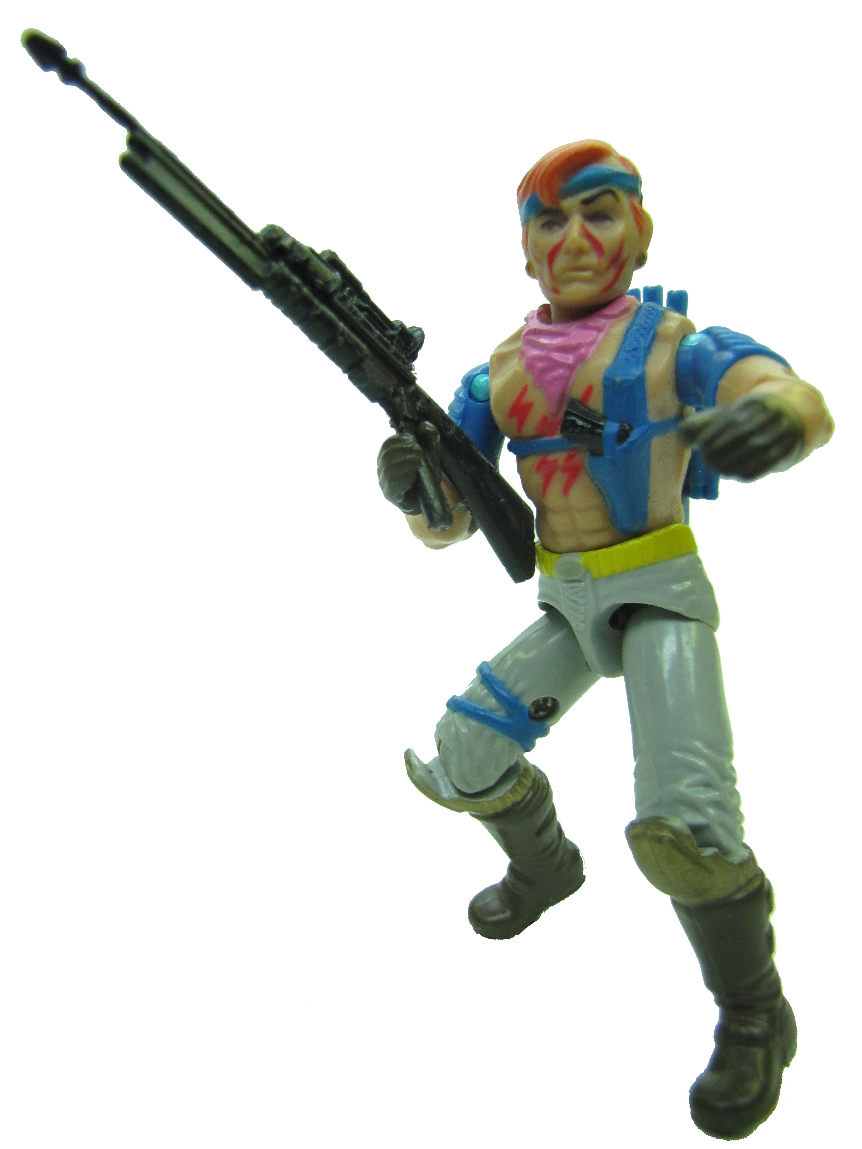 1986 GIJoe Cobra Dreadnok ZANDAR ZARTAN'S BROTHER Complete