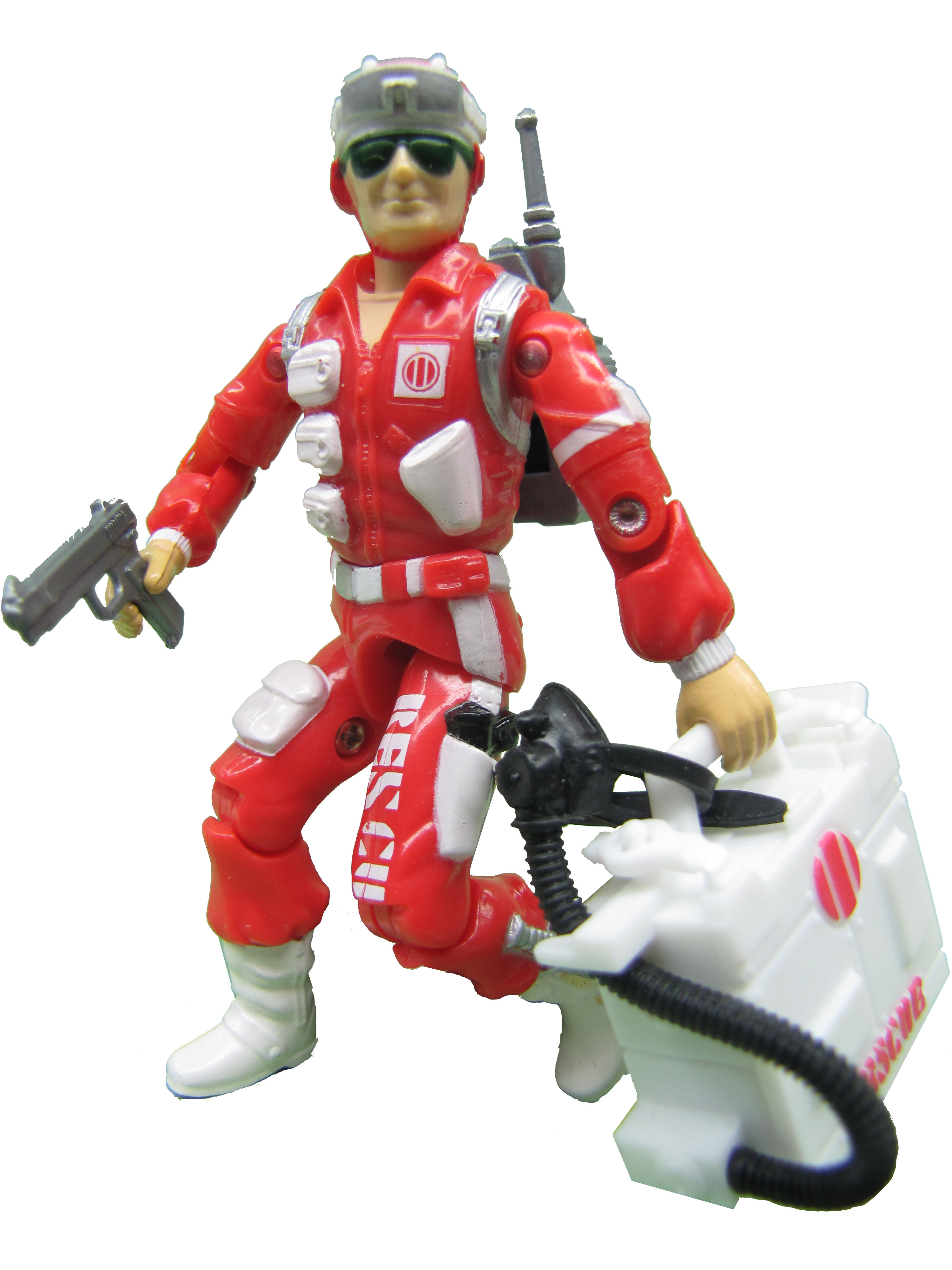 1986 GIJoe Lifeline RESCUE TROOPER Complete