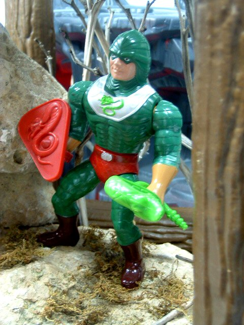 1986 Masters of the Universe King Hiss Complete