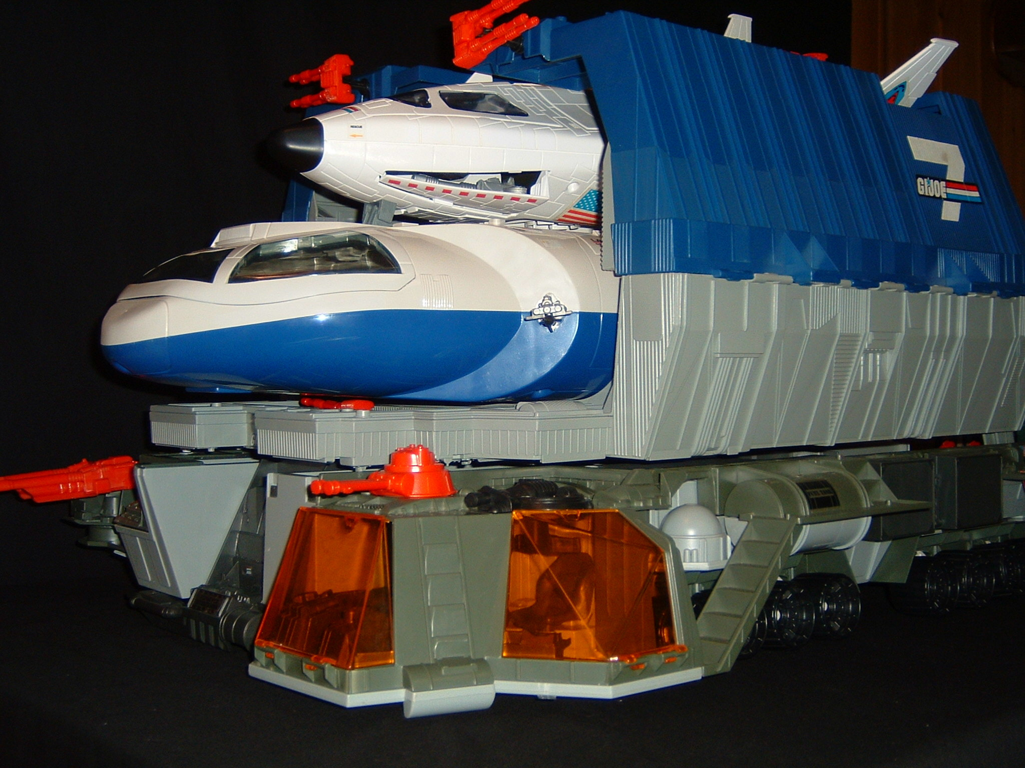 1987 GIJoe Defiant with Hardtop and Payload Complete