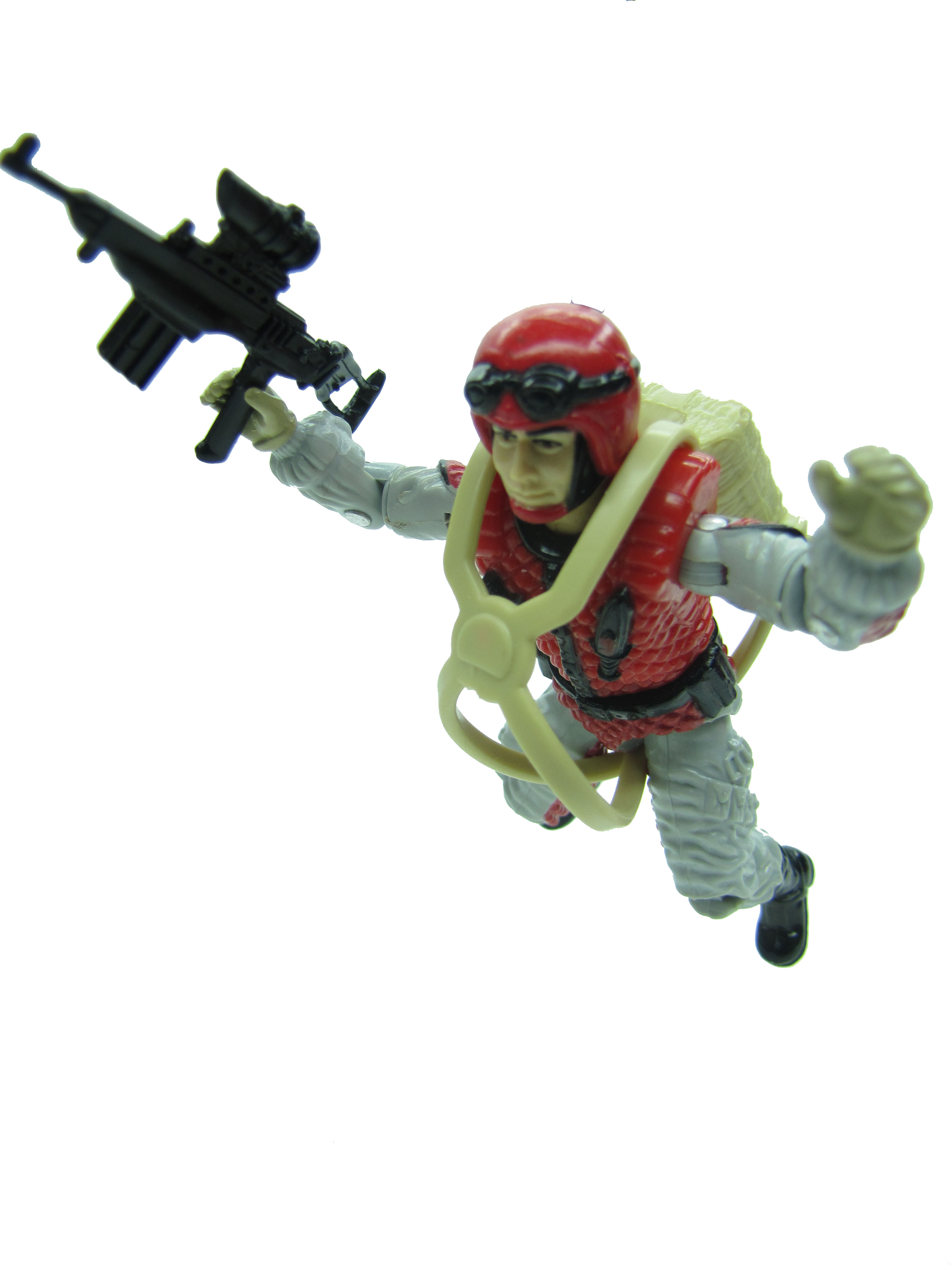 1987 GIJoe Crazylegs ASSAULT TROOPER Complete