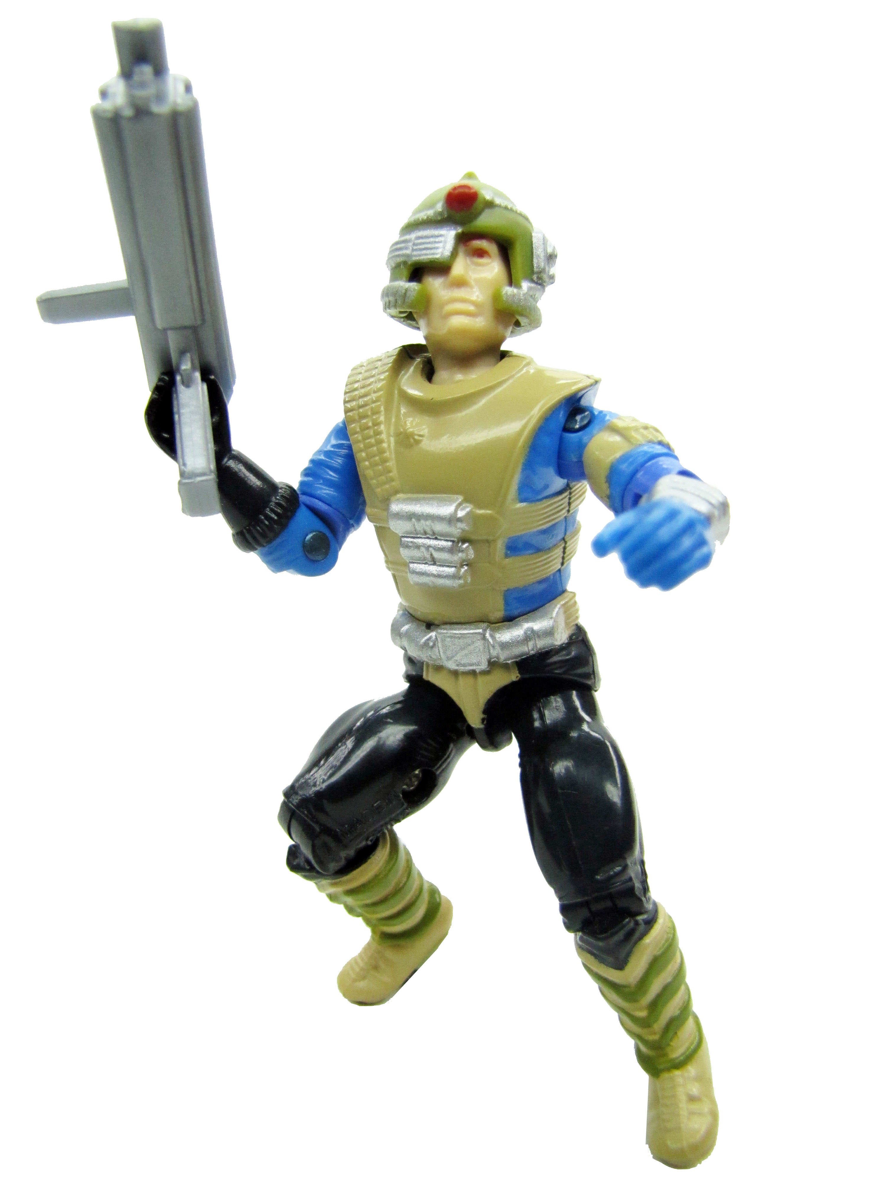 1987 GIJoe Knockdown SKY-SWEEPER ANTI-AIRCRAFT DRIVER Complete