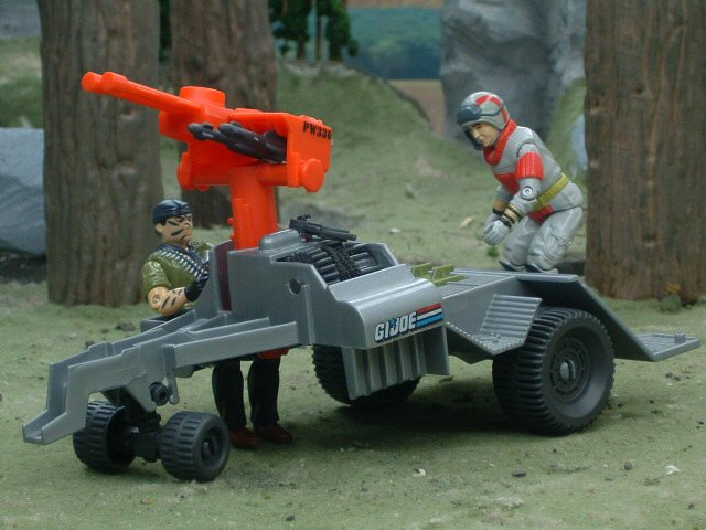 1987 GIJoe Road Toad B.R.V Battlefield Recovery Vehicle Complete