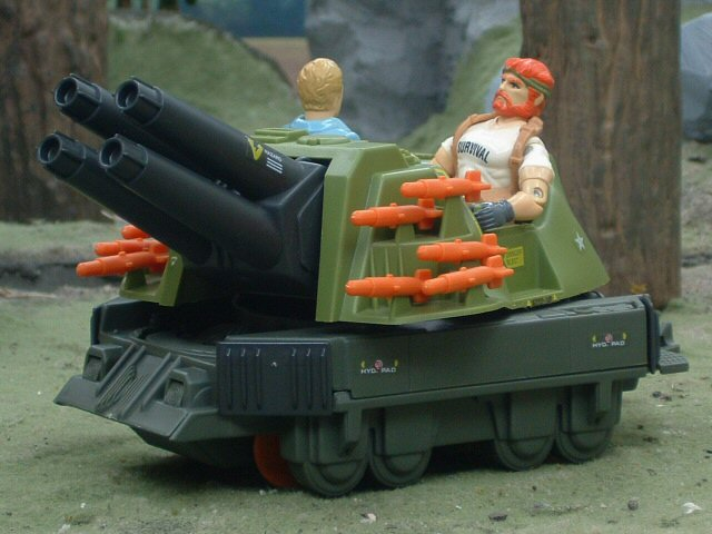 1987 GIJoe S.L.A.M. Strategic Long-Range Artillery Machine Compl