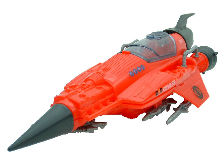 1988 GIJoe Cobra Stellar Stiletto with Star-Viper Complete