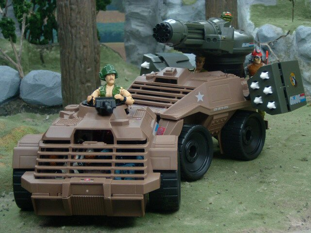 1988 GIJoe Mean Dog with Wild Card Complete